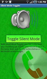 Silent Mode Toggler - screenshot thumbnail