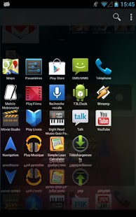 HD 3D Launcher PRO - screenshot thumbnail