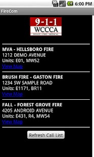 FireCom - Washington County - screenshot thumbnail