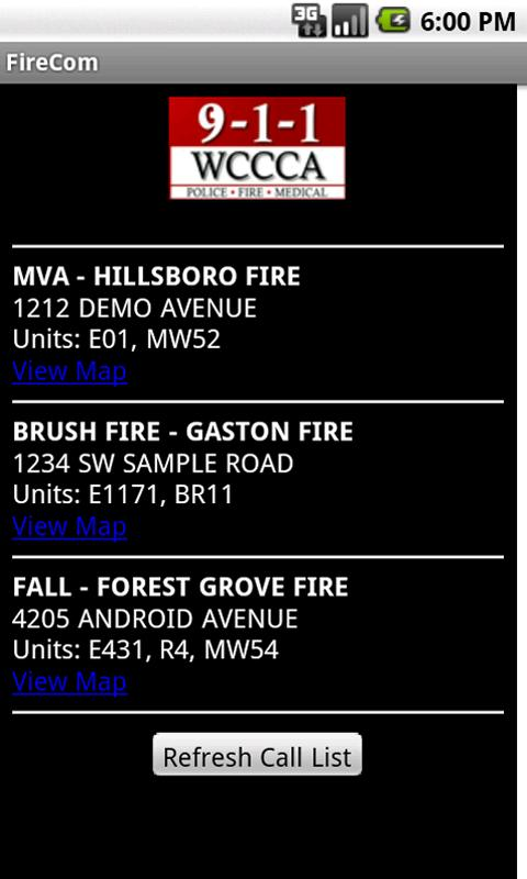 FireCom - Washington County- screenshot
