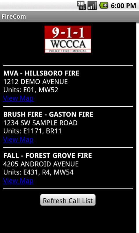 FireCom - Washington County - screenshot