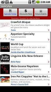 SavoryApp- screenshot thumbnail