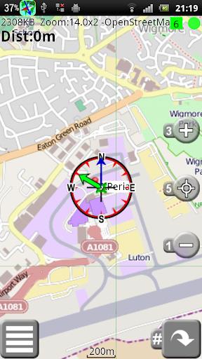 FMap GPS - 在地圖上找到