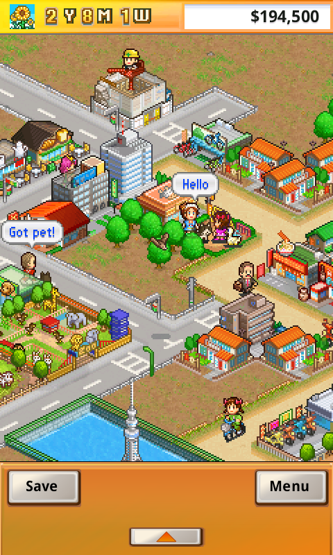 Screenshots of Venture Towns for iPhone