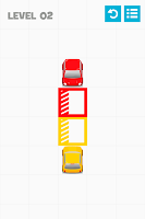 Screenshot of Color Parking - about squares