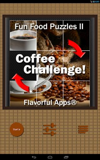 Fun Puzzle Games II : Coffee