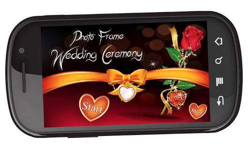 Photo Frame Wedding Ceremony