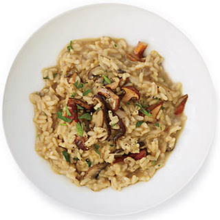 Wild Mushroom-and-Red Wine Risotto.