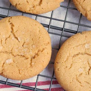 Browned Butter Salty Sugar Cookies.