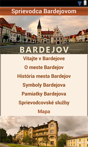 Sprievodca Bardejovom
