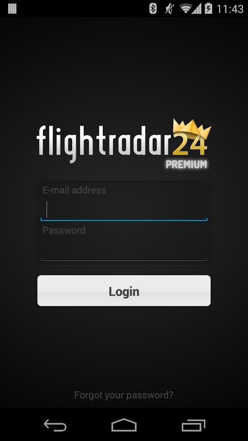 FR24 Premium - screenshot