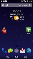 Screenshot of Days Till Christmas Widget
