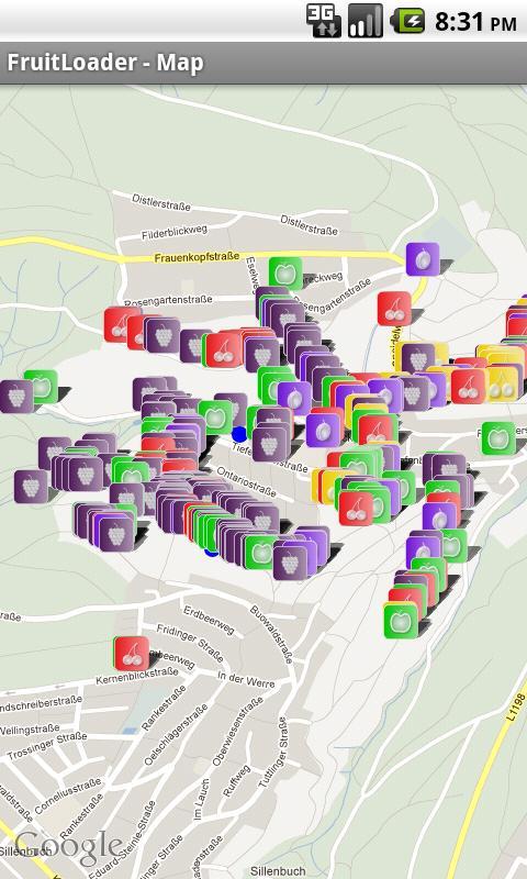 FruitLoader Map- screenshot