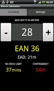 Nitrox Calculator - screenshot thumbnail