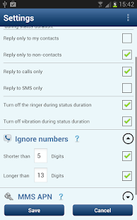 SMS Autoresponder + Scheduler - screenshot thumbnail