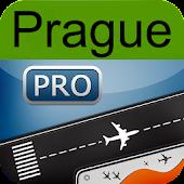 Prague Airport+flight tracker