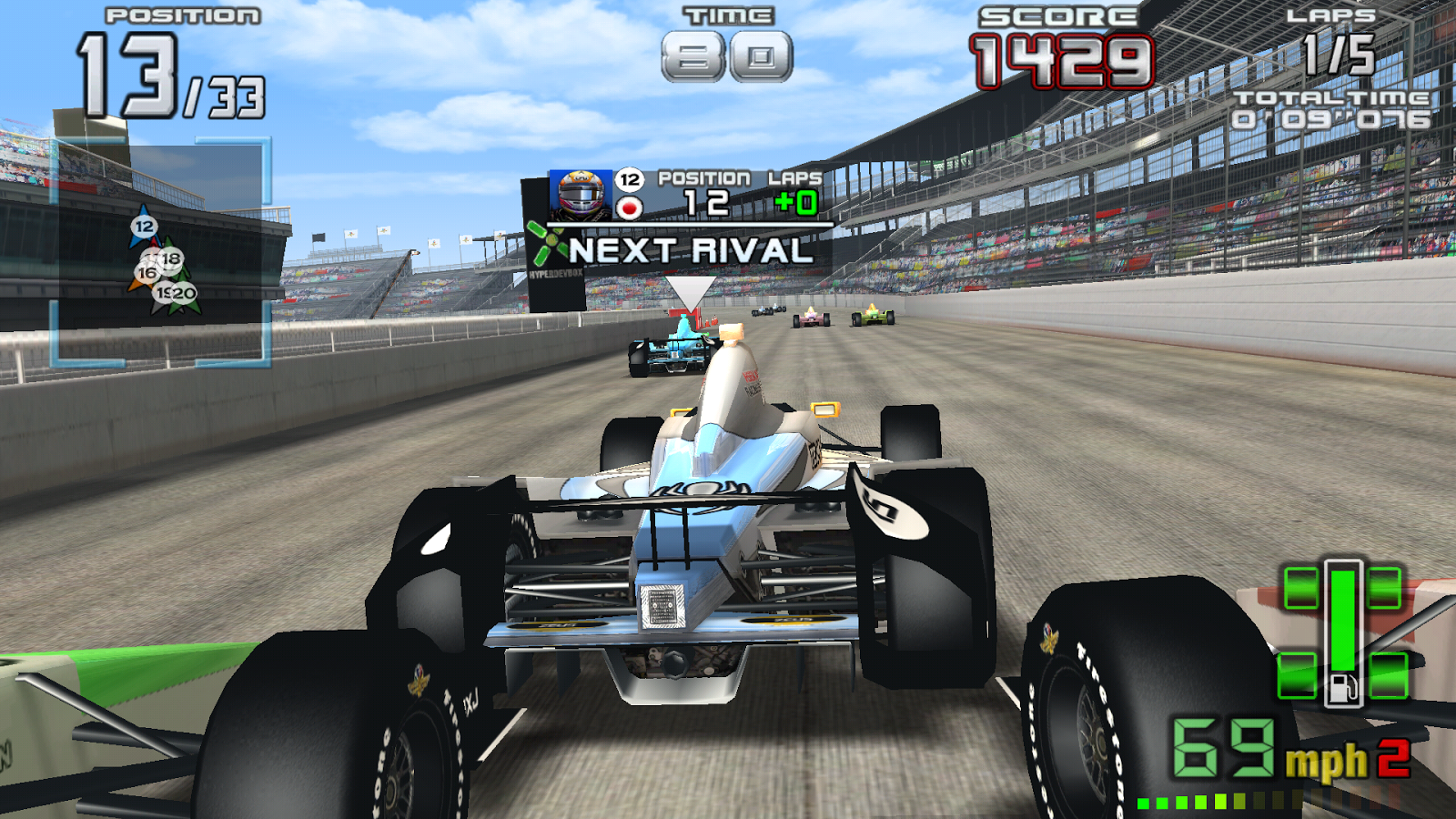 INDY 500 Arcade Racing- screenshot