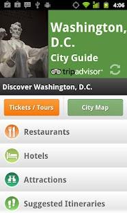 Washington DC City Guide - screenshot thumbnail