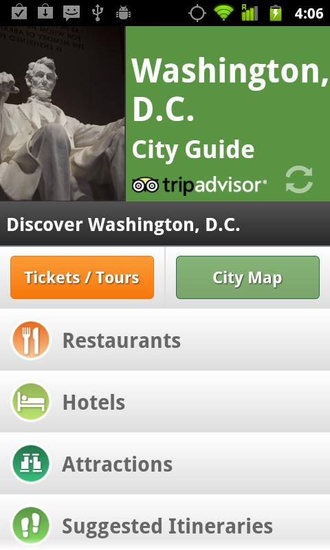 Washington DC City Guide - screenshot