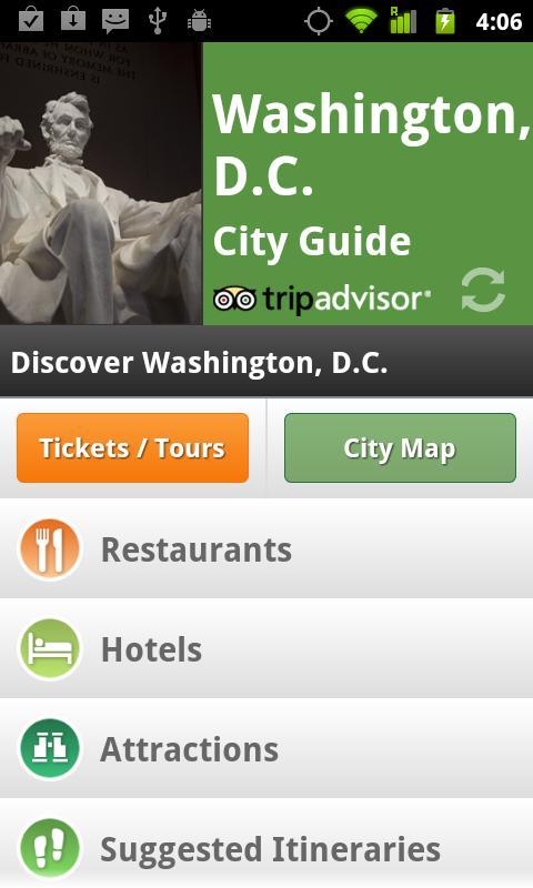 Washington DC City Guide screenshot #1