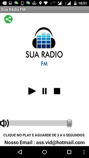 Sua Radio Fm - Rádio Gospel