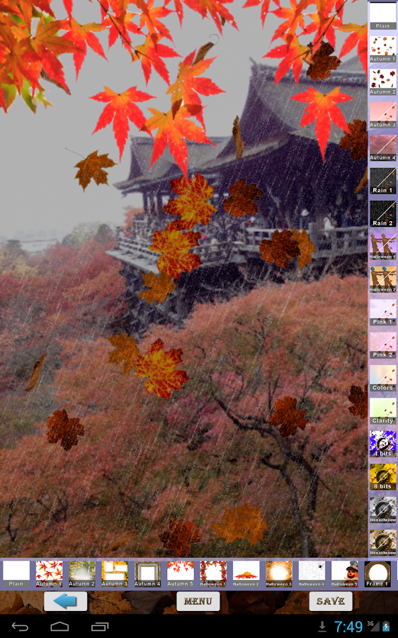 Aki Camera -Autumn & halloween- screenshot