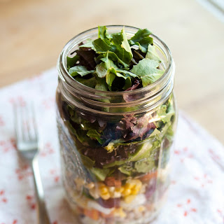 How to Pack the Perfect Salad in a Jar.