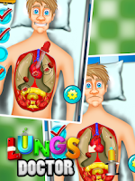 Screenshot of Lungs Doctor - Kids Fun Game