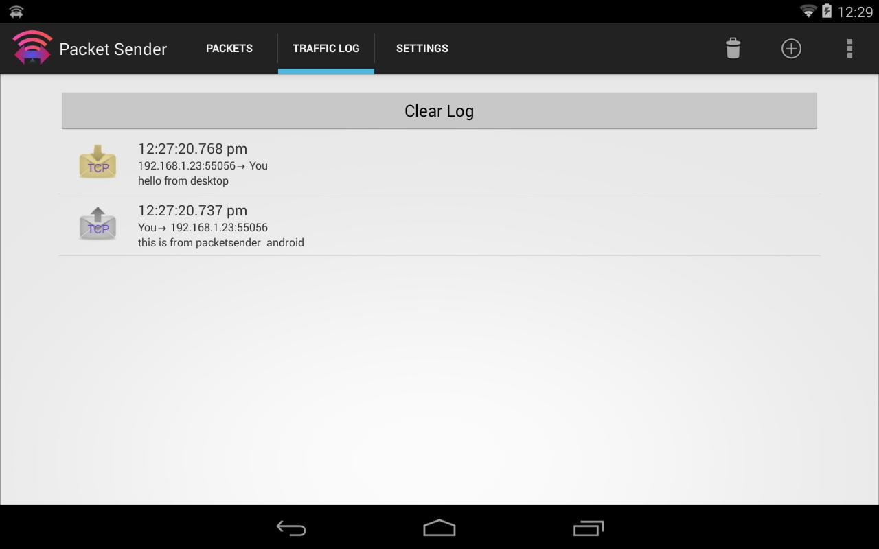 Packet Sender - screenshot