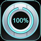 Beautiful Battery Disc White icon