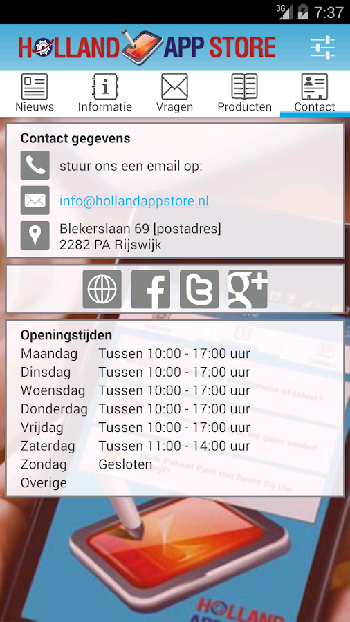 Holland App Store- screenshot