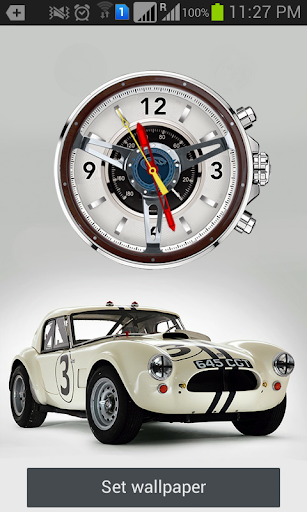 Shelby Cobra Live Wallpaper