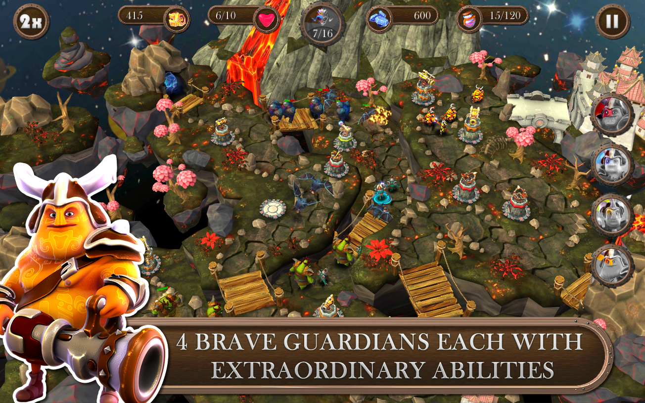 Brave Guardians- screenshot