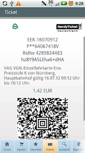 HandyTicket Deutschland - screenshot thumbnail