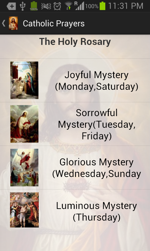 Catholic Prayers - screenshot