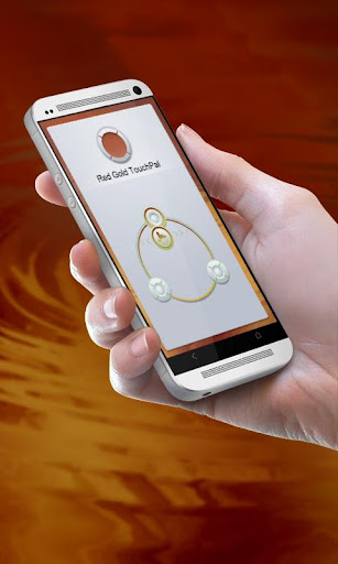 Red Gold TouchPal Theme