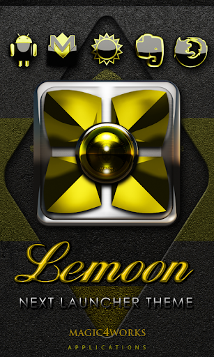 Next Launcher Theme Lemoon