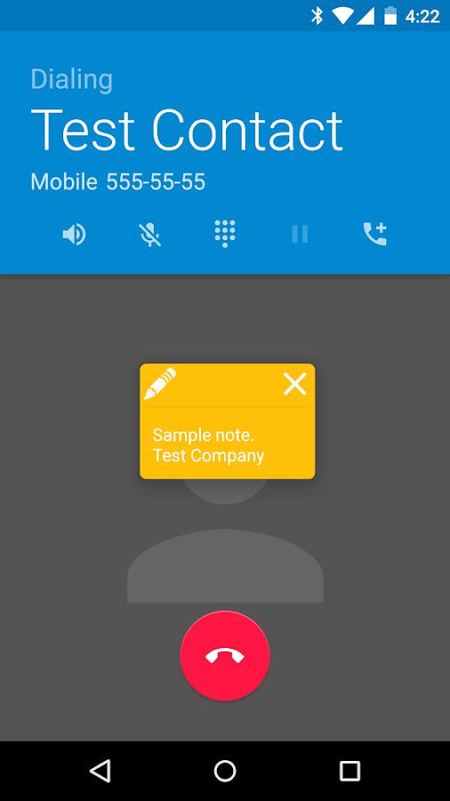Call Notes Pro - screenshot