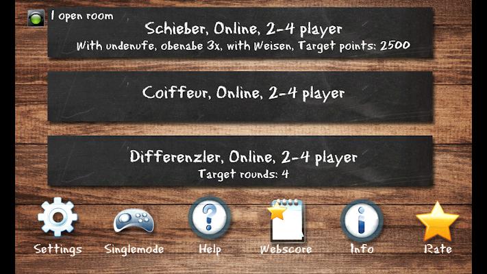 SwissJass Pro, Schieber, Coiffeur, Differenzler - screenshot