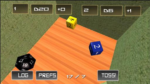 Toss Em Full - 3D RPG Dice