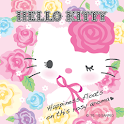 Hello Kitty Rosy Aroma Theme icon