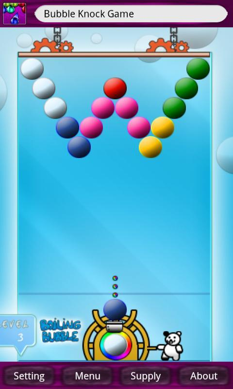 Bubble Knock Game - screenshot
