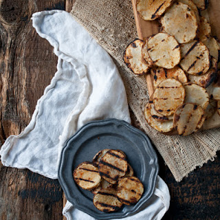 Grilled Beer Soaked Rosemary Potatoes