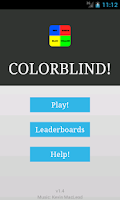 Screenshot of Colorblind Brain teaser rbgy