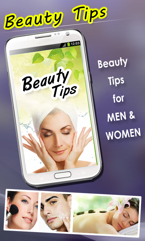 Beauty Tips For Women and Men - screenshot