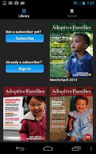 Adoptive Families Magazine- screenshot thumbnail