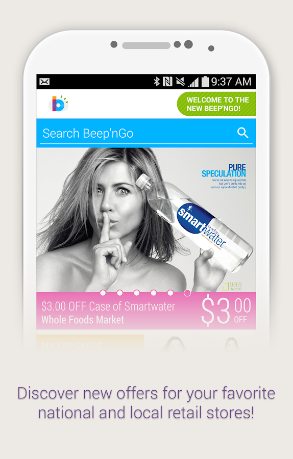 Beep'nGo - Loyalty & Coupons - screenshot