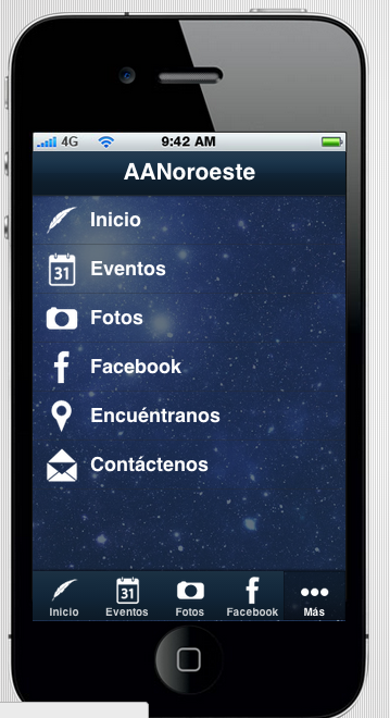 AANoroeste - screenshot