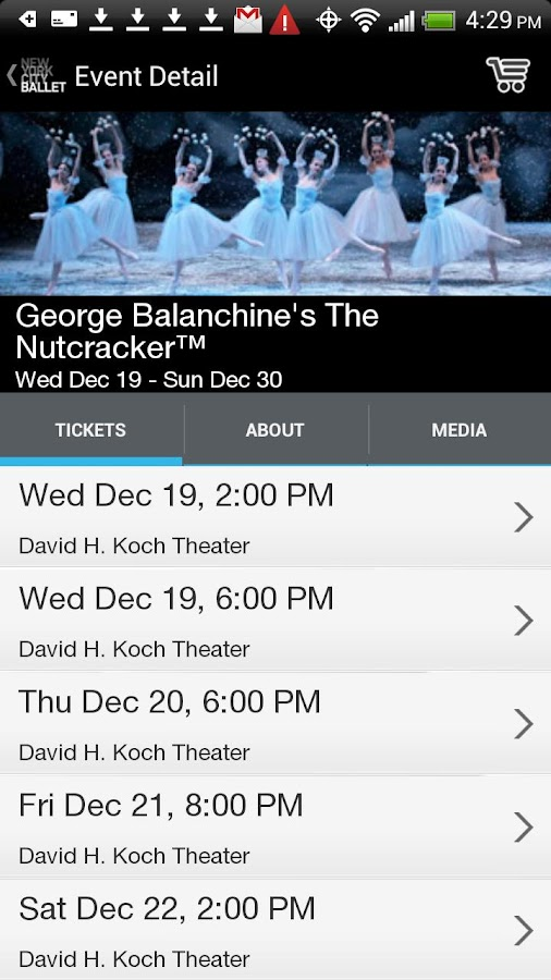 New York City Ballet - screenshot