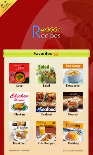 4000+ Recipes Cookbook